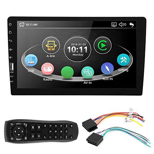 Coche MP5 Player-9in 2 Din Pantalla táctil de coche GPS MP5 Player Internet para teléfono