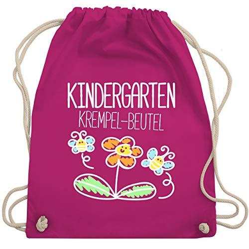 Shirtracer Turnbeutel - Kindergarten Krempel-Beutel - Unisize - Fuchsia - kindergarten beutel - WM110 - Turnbeutel und Stoffbeutel aus Baumwolle
