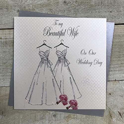 White Cotton Cards Code PD209B a mi Hermosa Esposa el día de...