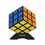 Dodolive Shengshou 3x3x3 Rompicapo Traccia Cubo Magico Divertente Formazione Frosted Plastic Magic Cube Puzzle,Nero (Elettronica)