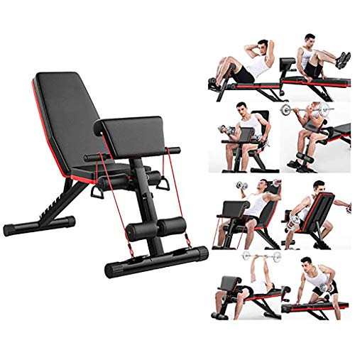 Adjustable Weight Benchs Dumbbell Stool Roman Chair Foldable Workout Bench Sit Up Incline Abs Benchs Flat Fly Weight Press Weight Benchs Fitness Machine