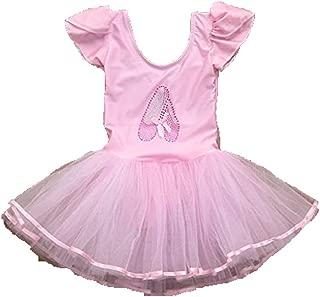 Kids Girl's Camisole Ballet Tutu Dress up Leotard Dancewear Costumes Yamally