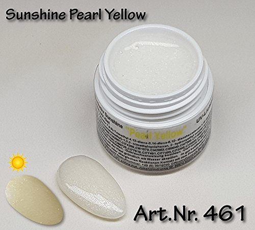 5ml UV Exclusiv Sunshine Gel Pearl Yellow