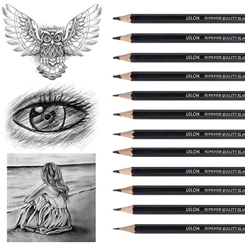 Professional Drawing Sketching Pencil Set - 12 Pieces Art Drawing Graphite Pencils(8B - 2H), Ideal for Drawing Art, Ideal for Drawing Art, Sketching, Shading, for Beginners & Pro Artists Photo #6
