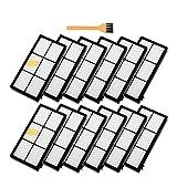 WPLHH Home Cleaning HEPA Filters; Kit de cepillos para iRobot...
