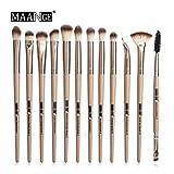 Makeup Brush Set Professional 12/14pcs/makeup Brush Set Eye Shadow Blend Eyeliner Eyelash Makeup Eyebrow Pencil