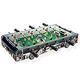 HAODGUO Futbolín de mesa portátil para salas de juegos, arcadas, bares, para adultos, noche familiar, 60,5 x 30,5 x 11 cm, excelente regalo