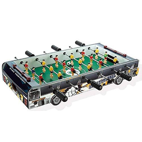 WCJ Foosball Tabletop Spiele Beweglich, Freizeithand Fußball for Spielzimmer, Spielhallen, Bars, for Erwachsene, Familie Nacht, 60,5 * 30,5 * 11cm