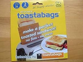 REUSABLE TOASTABAGS sandwich broodrooster toastie tassen toast