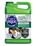 Cat's Pride Natural Care MaxPower Hypoallergenic Clumping Cat Litter, Unscented, 15lb Jug