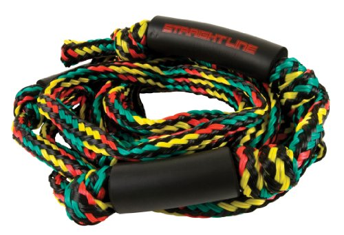 Straight Line Rasta Knotted Surf Rope