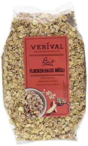 Verival Flocken Basis Müsli - Bio, 6er Pack (6 x 500 g)