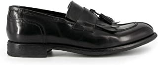 Luxury Fashion | Doucal's Men DU2388MARTUF063 Black Leather Loafers | Spring-summer 20
