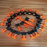 FireAngels - 50 piezas de nivelación de azulejos de...
