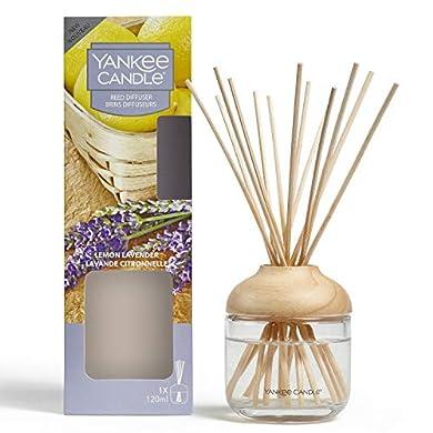 Foto di YANKEE CANDLE Diffusore di Aroma a Bastoncini, Limone e Lavanda, 120 ml, Durata della fragranza: Fino a 10 Settimane