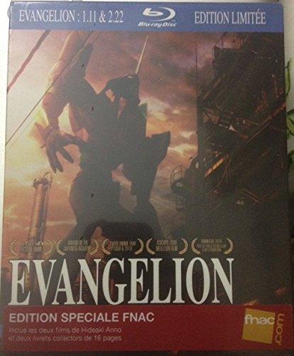Evangelion Coffret des Films 1.11 et 2.22 - Blu-Ray - Editio