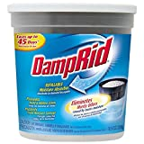 DampRid Refillable Moisture Absorber, Fragrance Free, 10.5-Ounce (Pack of 3)