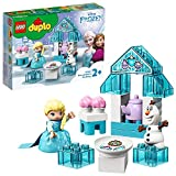 LEGO DUPLO Princess - Fiesta de Té de Elsa y Olaf, Juguete Inspirado en la Película Frozen II, Incluye dos Personajes...