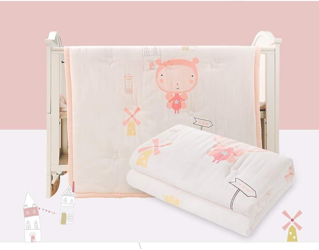 GAI Bébé climatiseur est coton été bébé nouveau-né été cool bébé couette couette enfant couette (Couleur : B) B