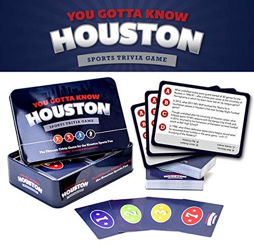 You Gotta Know Houston - Sports Trivia Game