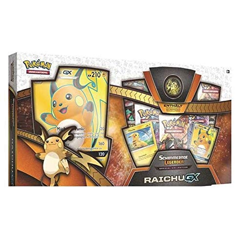 Pokemon 25978 Pokémon Company International 25978-PKM SM03.5 Raichu-GX Box Sammelkarten, bunt