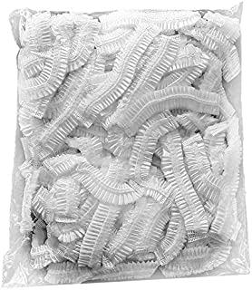 DISPOSABLE PLASTIC SHOWER HEAD CAP 100 PIECES IN PACKET