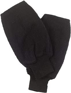 Original Turtle Fur Fleece - Golf Mitt, Heavyweight Fleece Pull Up Mitten, Black