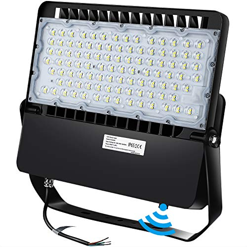 LEDMO LED Stadium Flood Lights Outdoor 1500W Equivalent with Dusk to Dwan Photocell Lighting Up 3099ft² LED Arena Lights 270°Wide Beam Angle 5000K Commercial Light for Sports Count |Garage|Yard