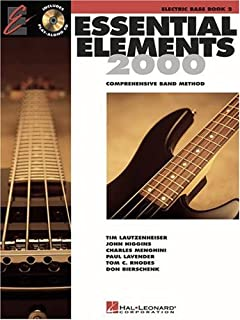 Essential Elements with EEi Electric Bass Book 2 Bk/Online Media