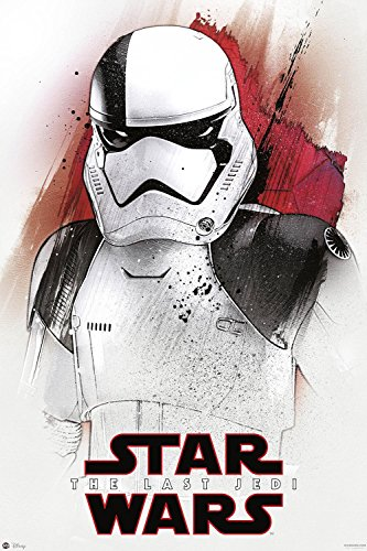 Nifty Póster Star Wars Episode VIII: The Last Jedi - Stormtrooper (61cm x 91,5cm) + Embalaje para Regalo