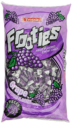 Tootsie Rolls Frooties Grape Candy (360 Count), 38.8oz