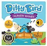 DITTY BIRD Baby Sound Books: Nursery Rhymes Musical Sound Book for Babies is The Perfect Toys for 1 Year Old boy and 1 Year Old Girl Gifts. Educational Childrens Books Ages 1-3 Award-Winning!