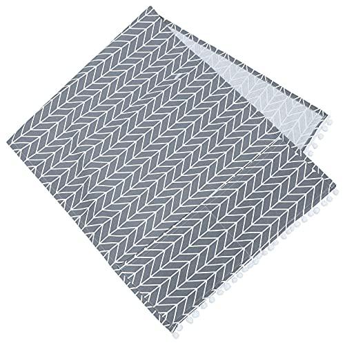 Generic Kühlschrank Staub- Proof Abdeckung Boho Waschmaschine Abdeckung mit Lagerung Taschen Taschen Mikrowelle Ofen Abdeckung für Home Küche