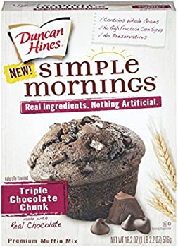 12-Pack 18.2 Oz Duncan Hines Simple Mornings Premium Muffin Mix