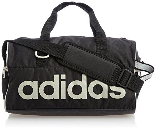 Adidas Tasche Linear Performance Teambag M Bolsa, Unisex, Negro/Blanco, M
