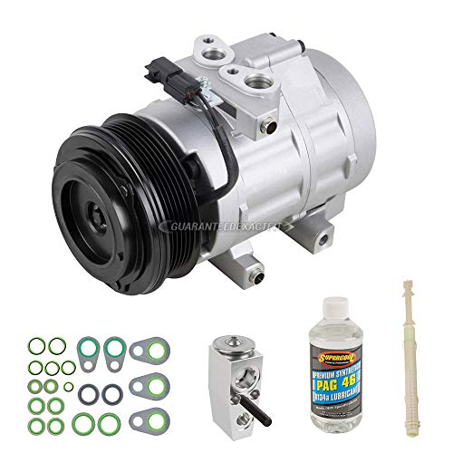 BuyAutoParts 60-81996RK New AC Compressor /& A//C Repair Kit For Ford F150 F250 F-150 F-250 Bronco 5.0L 5.8L 302 351 V8 1990 1991 1992 1993