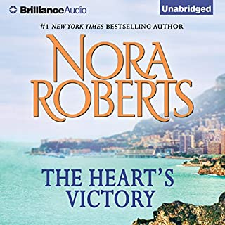 The Heart's Victory                   By:                                                                                                                                 Nora Roberts                               Narrated by:                                                                                                                                 Christina Traister                      Length: 7 hrs and 23 mins     111 ratings     Overall 4.3