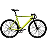 State Bicycle Co. Black Label 6061 Aluminum Frame Fixed Gear/Single Speed Bike w/Essor Carbon Fork