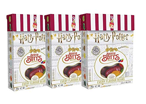 Jelly Belly Harry Potter Set - Jelly Beans Bertie Bott's 3er Set 35g - (3 x 35g)