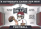2019 Leaf Draft Football HUGE Factory Sealed 20 Pack Retail Box with TWO(2) AUTOGRAPHS & 90 ROOKIE Cards! Look for RC & AUTOS of Kyler Murray, Dwayne Hoskins, Daniel Jones, Drew Lock & More! WOWZZER!
