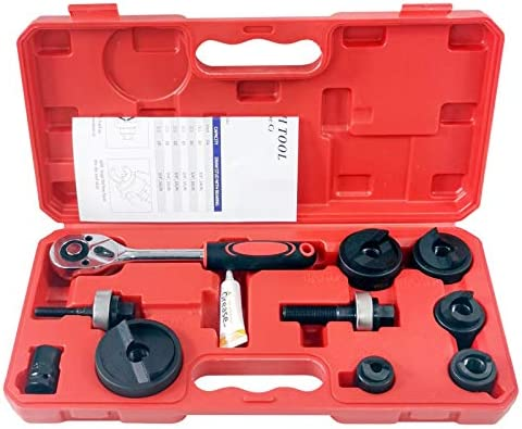 ITOOLY Manual Knockout Hole Punch Driver Kit 1 2 to 2 inch Electrical Conduit Hole Cutter Set product image
