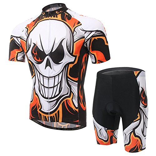 Free Fisher - Conjunto de ciclismo, con maillot de manga corta y...