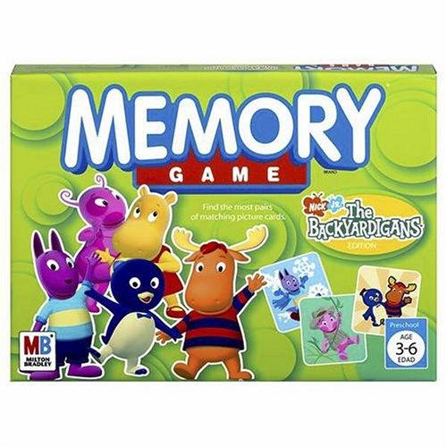 Memory Game - The Backyardigans Edition
