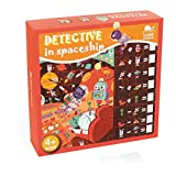 Andreu Toys- Detective IN Spaceship Puzzles, Color (Multicolor) (NW4021)