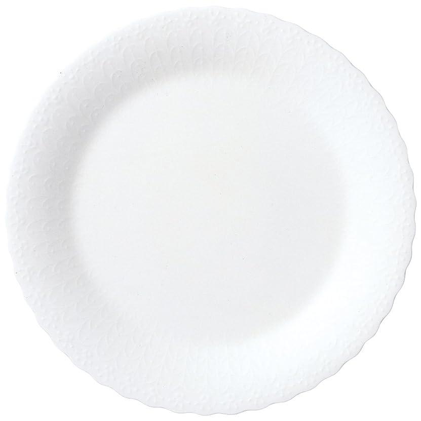 従来のアンソロジーパシフィックNARUMI(ナルミ) プレート シルキーホワイト 23cm 電子レンジ温め 食洗機対応 9968-1525P