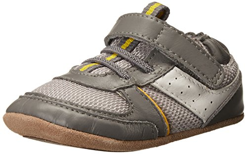 Robeez Maverick Sneaker (Infant), Canary Yellow, 3-6 Months M US Infant