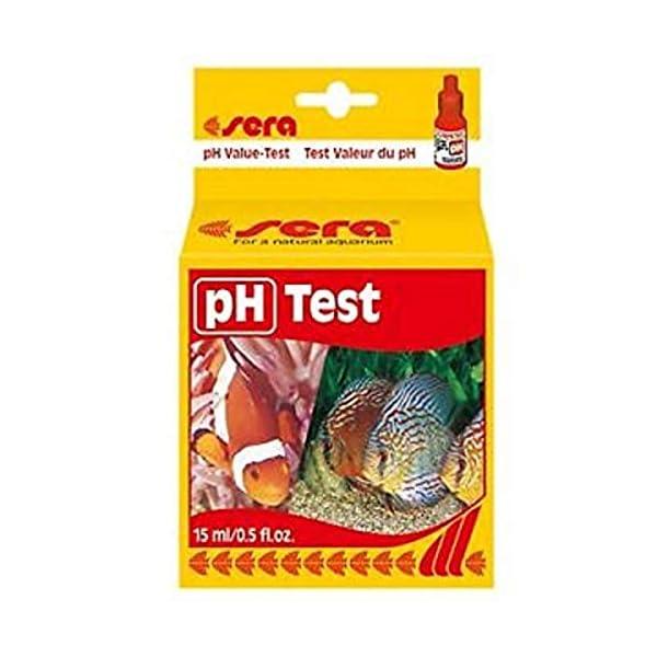 sera pH Test ein Wassertest für 100 Messungen