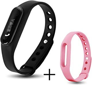 QAR Fashion Men and Women Couple Smart Bracelet Waterproof Multifunction Smart Watch (Color : D)