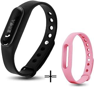 QAR Fashion Men and Women Couple Smart Bracelet Waterproof Multifunction Smart Watch (Color : D)