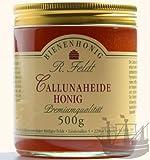Callunaheide Honig, die beste Heide, rotbraun, kräftiges Aroma, unvermischt 500g